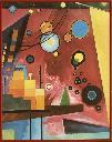Heavy red /Wassily Kandinsky.